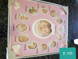 Infant baby photoframe