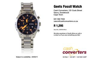 Gents Fossil Watch