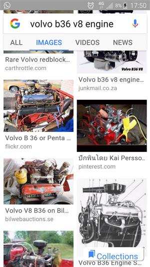 Volvo B 36 V8 engine wanted