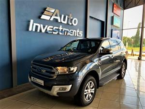 2016 FORD EVEREST 3.2TDCI XLT 4X4 AUTO FOR SALE