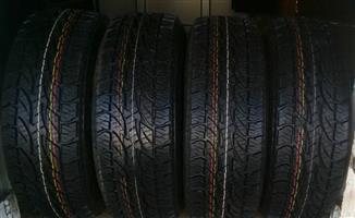 265/65/17 bridgestone dueler a/t 694 new tyre R6 999.00.