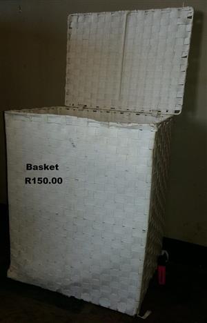 White basket for sale