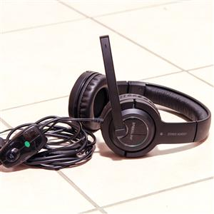Speedlink stereo console gaming headset PlayStation Xbox PC headphone
