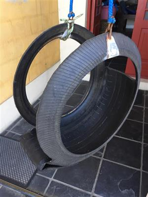 Tyre swing chair – Lots of fun for kids