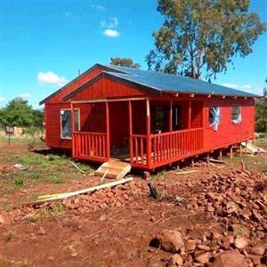6x6m log cabin