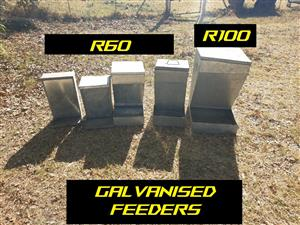 FEEDERS AND FEED BINS FOR QUAIL AND CHICKEN