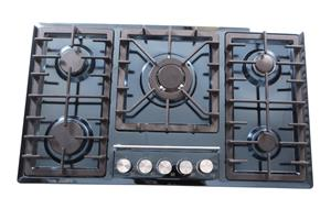 Zooltro Stainless Steel Gas Hob Cooktop Stove - 5 Burners
