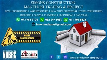 SIMONS CONSTRUCTION MANTHOKI TRADING & PROJECT