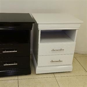 new wooden pedestals with drawers