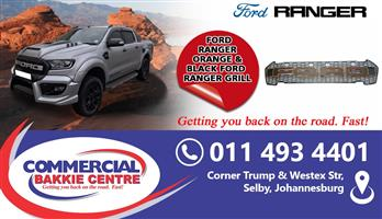 ford ranger t7 2016-grill with lights