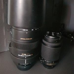 2x Lenses