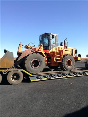 Used 2008 Doosan Mega 300V Front End Loader for sale