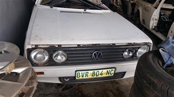 VW CITY GOLF 1 2008 & 2009 STRIPING FOR SPARES