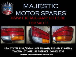 BMW E36 TAIL LIGHT FOR SALE