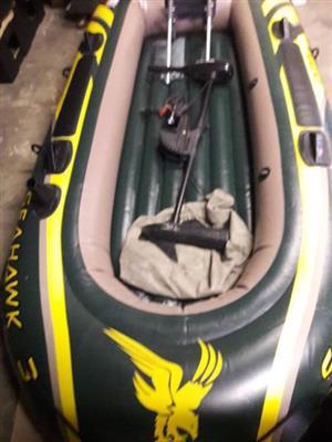 Sea Hawk 3 Inflatable boat
