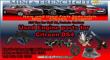 Citroen DS4 used Engines and Engines parts on Big sale !! Now !!