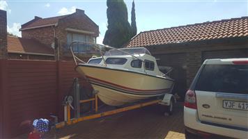 """14'7"""" cabin boat"""