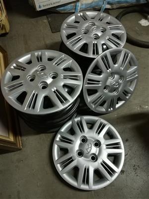 Hyundai Atos wheelcaps