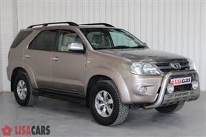2008 Toyota Fortuner 4.0 V6 4x4
