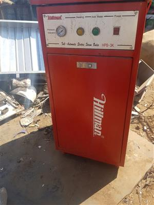 Hillman Steam Boiler for sale