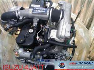 Imported used  ISUZU 4JAI TURBO ENGINE. Complete second hand used engine