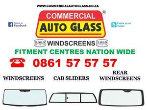 Windscreens and Cab sliders, Rear Windscreens, Vents and Quarter glasses, Taxi frames