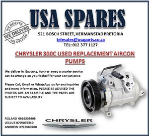 CHRYSLER 300C USED REPLACEMENT AIRCON PUMPS