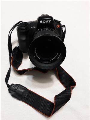 Sony α 200 Camera