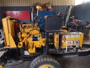 205 kva John Deere  Generator   , with 100 hrs