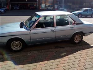 1979 BMW 520 Automatic
