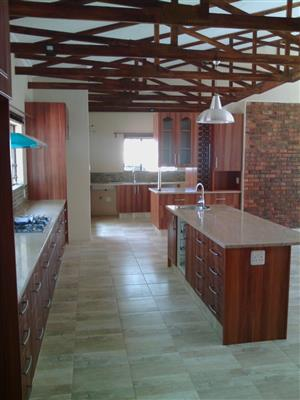 Granite and Cupboards