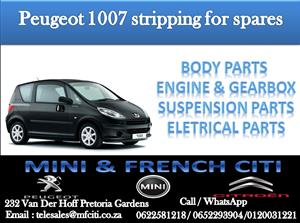 BIG PROMOTION ON PEUGEOT 1007 PARTS