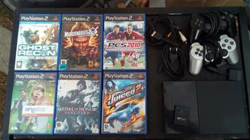 PlayStation 2 plus 15 games