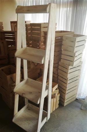 Ladder Shelf (4 Tier)