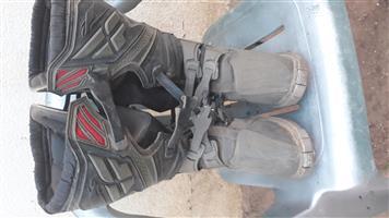 Offroad bike boots