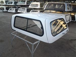 NISSAN NP200 BEEKMAN LOW-LINER REFURBISHED WHITE BAKKIE CANOPY - CALL US ON 0119554067
