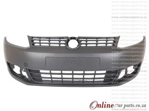 VW Caddy 3 11-15 Front Bumper With Fog Light Holes