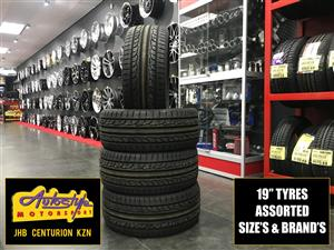 Tyres brand new 19 inch 235 35 19 from R950