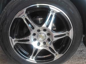 4 Zax Classix alloy rims and tyres