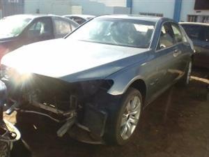 BMW 750I 2012 F01 STRIPPING @ BIT SPARES