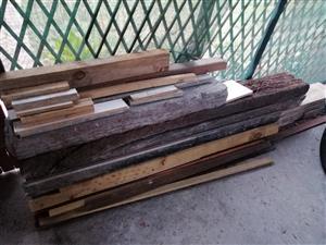 Wood planks and beams