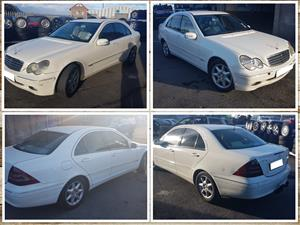 Mercedes C270 W203 2003 stripping for spares.