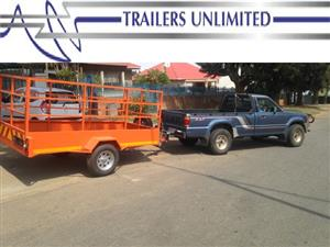 TRAILERS UNLIMITED 3500 X 1600 X 1600 UTILITY TRAILER BRAKE SYSTEM