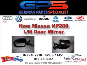 New Nissan NP200 L/H Door Mirror for Sale