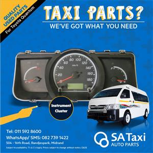 Instrument Speedo Cluster for Toyota Quantum - SA Taxi Auto Parts quality used spares