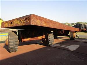 Flatbed Trailer- ON AUCTION