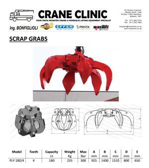 180L Scrap Grab | CRANE CLINIC