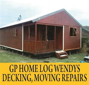 GP HOME LOG WENDYS DECKING, MOVING REPAIR