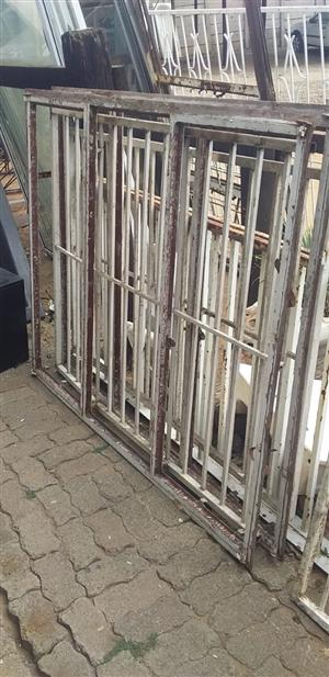 2nd steel windows with bars cheap