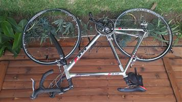 Silver GTR series two bicycle